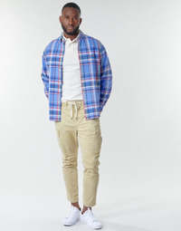 textil Herre Cargo bukser Polo Ralph Lauren SHORT PREPSTER AJUSTABLE ELASTIQUE AVEC CORDON INTERIEUR LOGO PO Beige