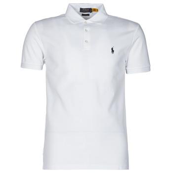 Polo-t-shirts m. korte ærmer Polo Ralph Lauren  POLO CINTRE SLIM FIT EN COTON STRETCH MESH LOGO PONY PLAYER