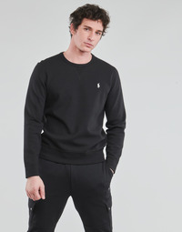 textil Herre Sweatshirts Polo Ralph Lauren SWEATSHIRT COL ROND EN JOGGING DOUBLE KNIT TECH LOGO PONY PLAYER Sort