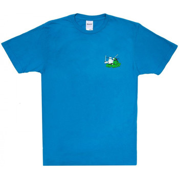 textil Herre T-shirts m. korte ærmer Ripndip Teenage mutant tee Blå