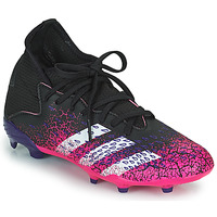Sko Børn Fodboldstøvler adidas Performance PREDATOR FREAK .3 F Sort / Pink