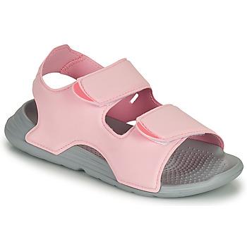 Sko Pige Sandaler adidas Performance SWIM SANDAL C Pink