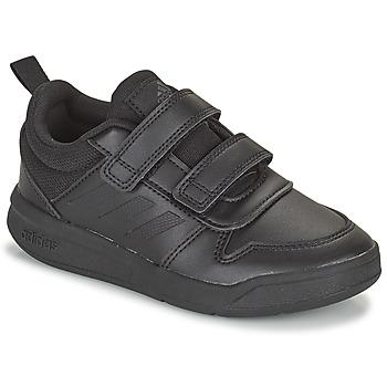Sko Børn Lave sneakers adidas Performance TENSAUR C Sort