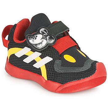 Sko Børn Lave sneakers adidas Performance ACTIVEPLAY MICKEY I Sort / Rød