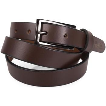 Accessories Bælter Jaslen signatur ægte læder læder unisex bælte Brun