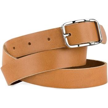 Accessories Bælter Jaslen Jaslens ægte læder unisex bælte Sort 100