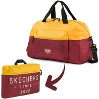 Tasker Rejsetasker Skechers MOVE Integreret Pocket Folding Gym Taske Gammelt guld