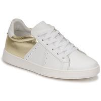 Sko Dame Lave sneakers Myma PIGGE Hvid / Gylden