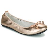 Sko Dame Ballerinaer Mac Douglas ELIANE Pink / Guld