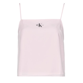 textil Dame Toppe / Bluser Calvin Klein Jeans MONOGRAM CAMI TOP Pink