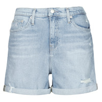 textil Dame Shorts Calvin Klein Jeans MOM SHORT Blå / Lys