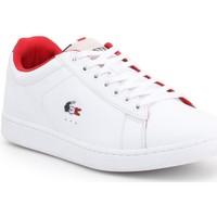 Sko Herre Lave sneakers Lacoste Carnaby Evo 317 3 SPM 7-34SPM0003042 white