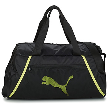 Tasker Dame Sportstasker Puma AT ESS BARREL BAG Sort / Gul / Fluo