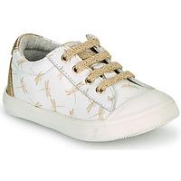 Sko Pige Lave sneakers GBB MATIA Hvid
