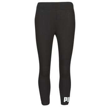 textil Dame Leggings Puma ESS 3/4 LOGO LEGGING Sort