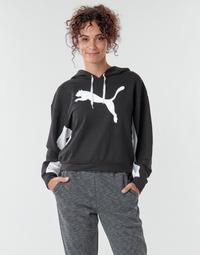 textil Dame Sweatshirts Puma Modern Sports Hoodie Sort
