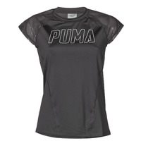 textil Dame T-shirts m. korte ærmer Puma WMN TRAINING TEE F Sort