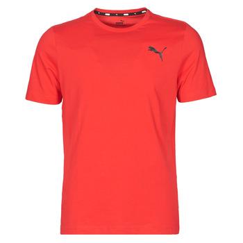textil Herre T-shirts m. korte ærmer Puma ESS TEE Rød