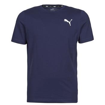 textil Herre T-shirts m. korte ærmer Puma ESS TEE Marineblå