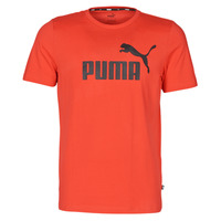 textil Herre T-shirts m. korte ærmer Puma ESSENTIAL TEE Rød