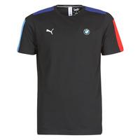 textil Herre T-shirts m. korte ærmer Puma BMW MMS T7 Tee Sort
