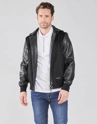 textil Herre Jakker Armani Exchange 3KZB03-ZE1AZ Sort
