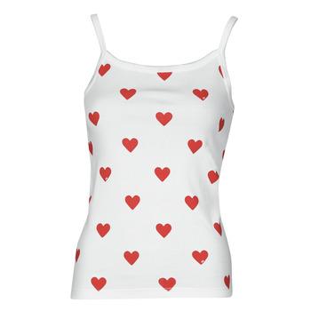 textil Dame Toppe / T-shirts uden ærmer Petit Bateau DAYWEAR Hvid