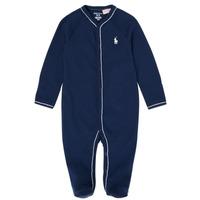 textil Dreng Pyjamas / Natskjorte Polo Ralph Lauren LOLLA Marineblå