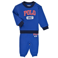 textil Dreng Sæt Polo Ralph Lauren NOELLE Blå