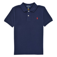 textil Dreng Polo-t-shirts m. korte ærmer Polo Ralph Lauren MENCHI Marineblå