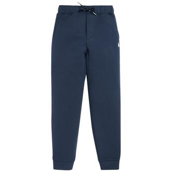 textil Dreng Træningsbukser Polo Ralph Lauren MINIZA Marineblå