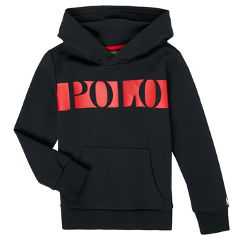 textil Dreng Sweatshirts Polo Ralph Lauren VOULLI Sort