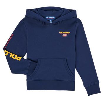 textil Dreng Sweatshirts Polo Ralph Lauren AMELIA Marineblå