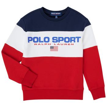 textil Dreng Sweatshirts Polo Ralph Lauren TRINITA Flerfarvet