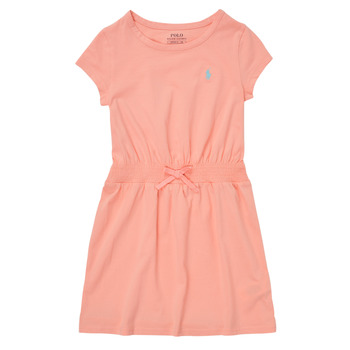 textil Pige Korte kjoler Polo Ralph Lauren FROLLI Pink