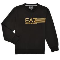 textil Dreng Sweatshirts Emporio Armani EA7 3KBM55-BJ05Z-1200 Sort
