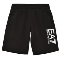 textil Dreng Shorts Emporio Armani EA7 3KBS52-BJ05Z-1200 Sort