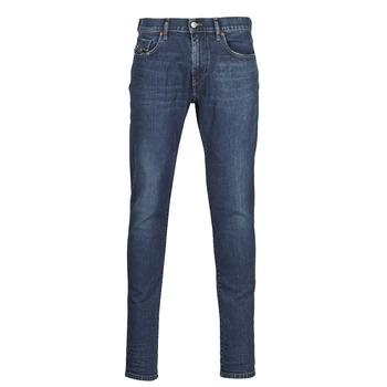 textil Herre Smalle jeans Diesel D-STRUKT Blå / Mørk