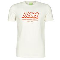 textil Herre T-shirts m. korte ærmer Diesel A01849-0GRAM-129 Hvid