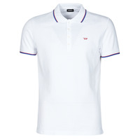 textil Herre Polo-t-shirts m. korte ærmer Diesel 00SW7C-0MXZA-100 Hvid