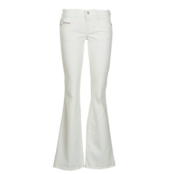 textil Dame Bootcut jeans Diesel D-EBBEY Hvid