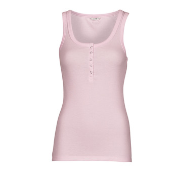 textil Dame Toppe / T-shirts uden ærmer Guess MILENA TANK TOP Pink / Lys