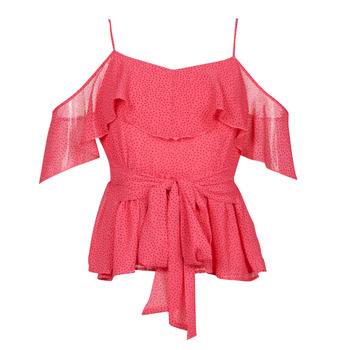 textil Dame Toppe / Bluser Guess SL PAULINA TOP Pink