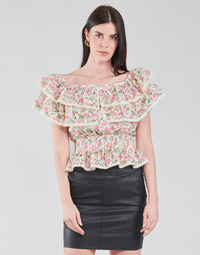 textil Dame Toppe / Bluser Guess SS NEW ISOTTA TOP Pink