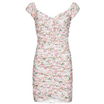 textil Dame Korte kjoler Guess INGRID DRESS Pink / Lys