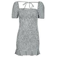 textil Dame Korte kjoler Guess AIDA  DRESS Sort / Hvid