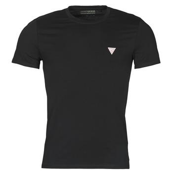 textil Herre T-shirts m. korte ærmer Guess CN SS CORE TEE Sort