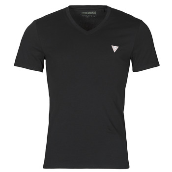textil Herre T-shirts m. korte ærmer Guess VN SS CORE TEE Sort