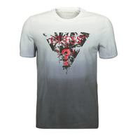 textil Herre T-shirts m. korte ærmer Guess PALM BEACH CN SS TEE Sort