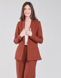 textil Dame Jakker / Blazere Naf Naf LINONOU V2 Terrakotta